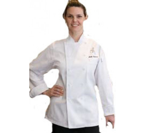 Chef Coats - St Tropez for Women 100% Cotton