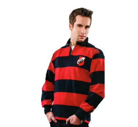 Casual Weight 4 Inch Stripe Rugby Shirt