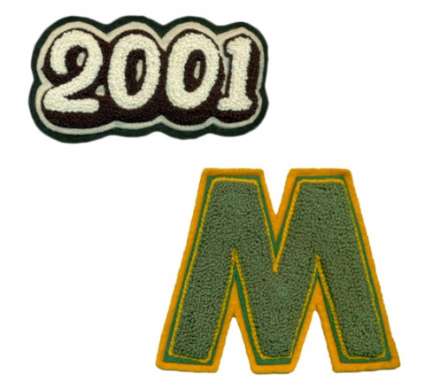 868-Custom Chenille Patches & Crests