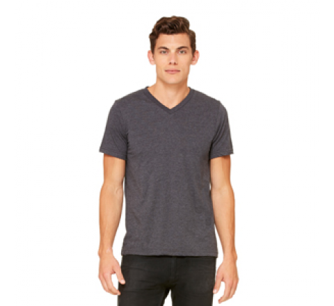 Bella Unisex Jersey S/S V-Neck T-Shirt
