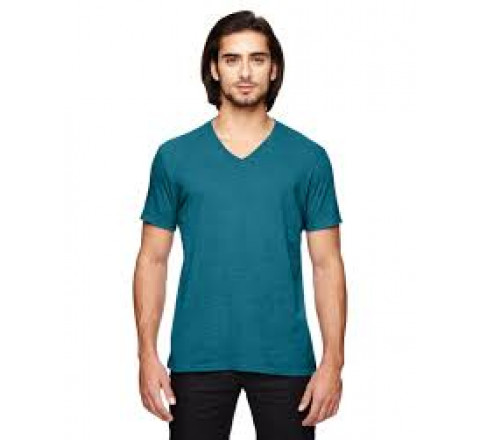 Anvil Men's Triblend V-Neck Tee