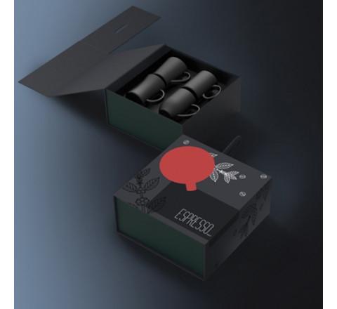 Quartetto Espresso Cups - Gift Set
