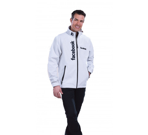 "Men's 3-Layer Performance ""Trail"" Jacket with Fleece Lining"