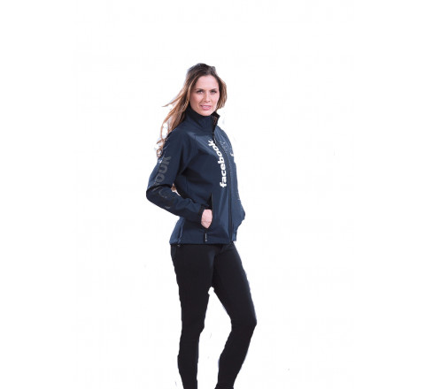 """Women's 3-Layer Performance Softshell """"Trail"""" Jacket with Bonded Fleece Lining"""