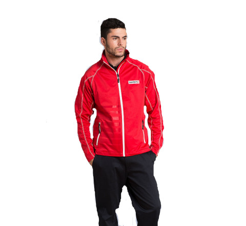 Men's Raglan Sleeve Lightweight Performance Jacket with Bonded Mesh Lining