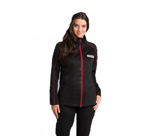 Women's Raglan Sleeve Lightweight Performance Jacket with Bonded Mesh LIning