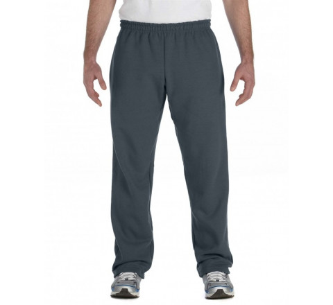 Gildan Sweatpants 50/50 Blend Open Bottom No Pockets