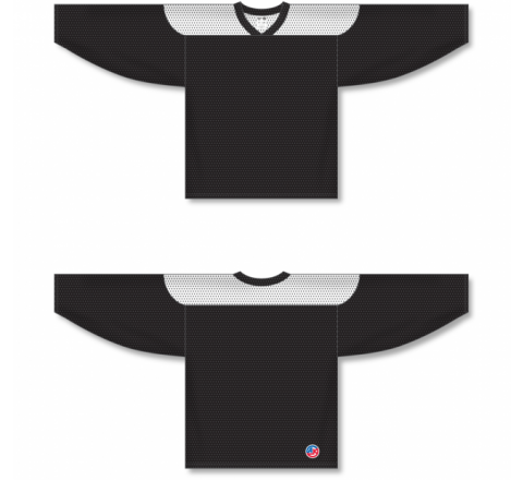 League Series Hockey Jerseys - Black/White