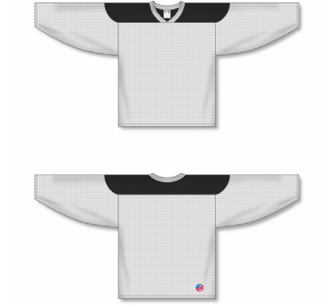 League Series Hockey Jerseys - White/Black