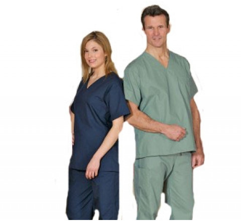 Cargo Scrubs Set