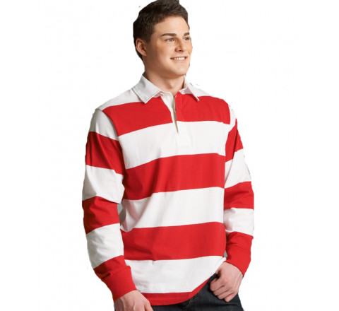 Classic Weight 4 Inch Stripe Rugby Shirt