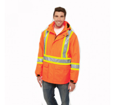 Jacket - Men's Hi Vis Insulated Parka