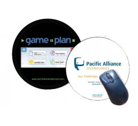 """Mouse Pads - Round 7.5"""""""