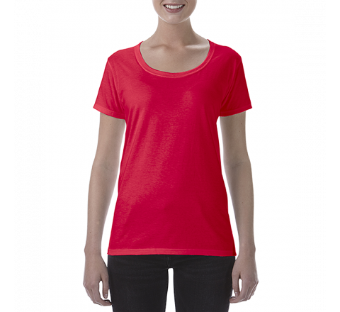 Gildan Softstyle Ladies Deep Scoop T-shirt
