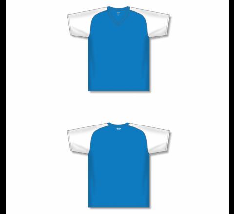 Custom Screen printed Soccer Jersey - Pro Blue