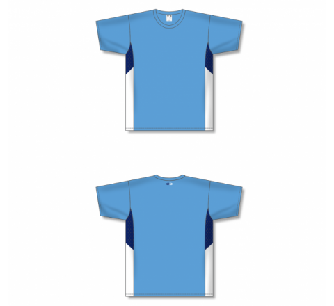 Custom Screen printed Soccer Jersey - Sky