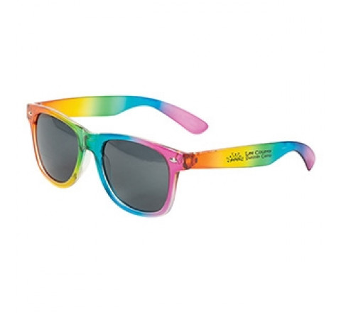 Custom Sandy Banks Rainbow Sunglasses