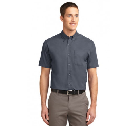 Coal Harbour Easy Care Short Sleeve Woven Shirt