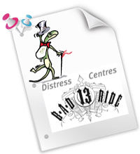 B.A.D Ride in support of the Distress Centres